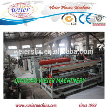 2300mm width of PP hollow grid sheet extruder machine line