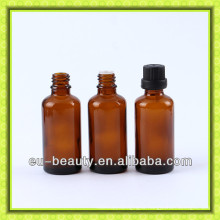 40ml amber essential oil glass bottle