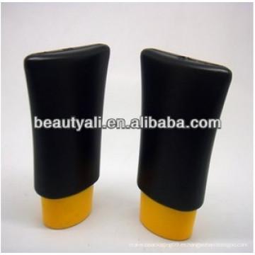 Botella cosmética del aceite esencial del PE 60g con la tapa de rosca