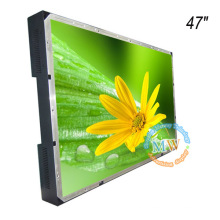 "TFT color 47"" open frame LCD monitor with high brightness 1000 nit"