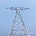 220kV Torre de transmisión de energía de acero de circuito único de tensión