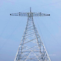 800kv Linear Angle Power Transmission Steel Tower