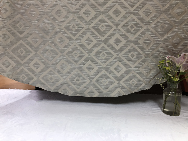 2018 Classic Classic Grey New Design Jacquard Table Cloth