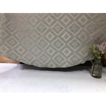 2018 Popular Classic Grey New Design Jacquard Table Cloth