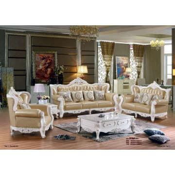 Высокое качество Королевский стиль кожаный диван (B16)