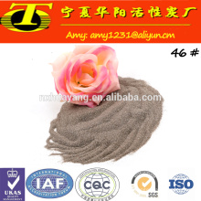 Export high density brown aluminium oxide for sand blasting
