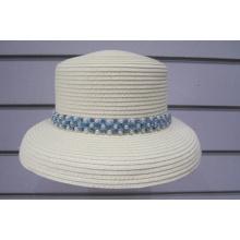Chapeaux de soleil tressés en perles de papier fin