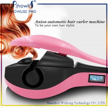 LCD Display Screen Lady′s Hair Curling Tools