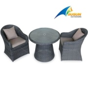 table de patio en rotin & Président