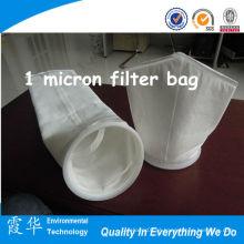 Venda quente 1 mícron filtro saco asfalto planta