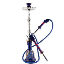 Fabrication Hookah Shisha pour fumer Royal Blue Syrian (ES-HK-099)
