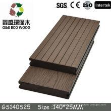 Cubierta caliente del wpc de la nueva llegada 2015 wpc, tablero compuesto plástico de madera de la alta calidad, decking compuesto de madera