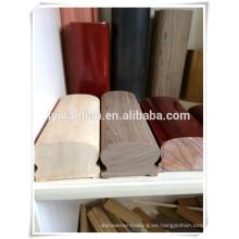 Venta caliente columnas de madera antigua barandilla de roble rojo con precios competitivos