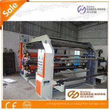 Flexo 4 cores não tecido máquina de impressão de tipografia