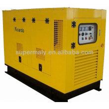 Groupe électrogène diesel silencieux de 40kw d'usine avec ISO CE