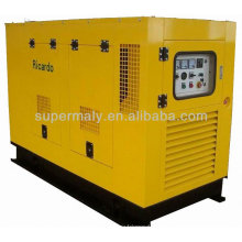 Factory price 40kw silent diesel generator set with ISO CE