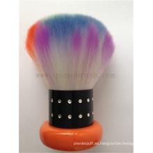 Nuevo estilo colorido de alta calidad kabuki cara cepillo