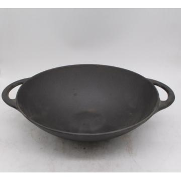 Gietijzer Chinese traditionele wok