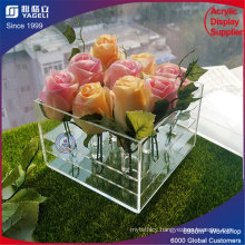 Hot Sale 9 PCS Fresh Acrylic Flower Box with Lid