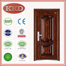 Matte Polish Apartment Security Steel Door KKD-335