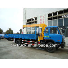 DongFeng 15tons cargo truck with crane