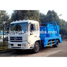 Dongfeng Tianjin 10-12cbm camión de basura / compacta camión de basura / compresor camión / gancho de basura camión / brazo colgante camión de basura