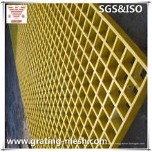 Grillage FRP, grille GRP, grille moulée en fibre de verre pour passerelle