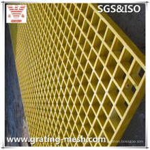 FRP Grating, GRP Grating, Fiberglass Molded Grating for Walkway