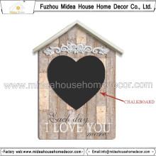 Großhandels-China-dekoratives Haus-hölzerner Tafel