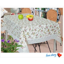 Environmentall-Friendly PVC Crystal Table Cloth