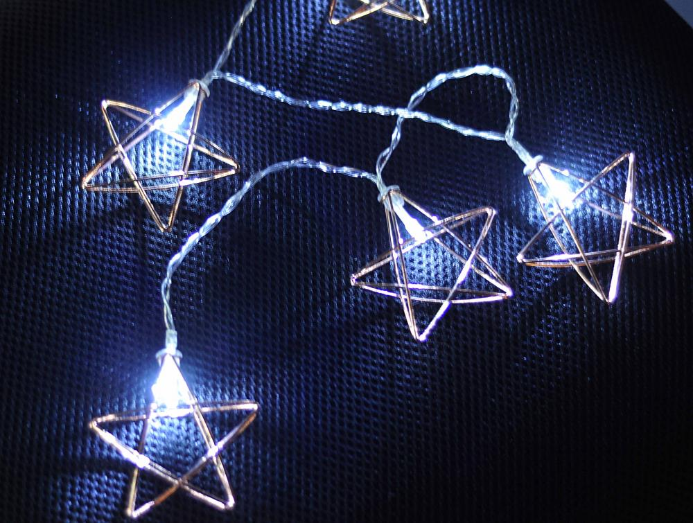 String Star Wired 10 LED com Try Me