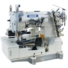 Flatbed Interlock Sewing Machine with Big Puller for Blanket Tape Binding