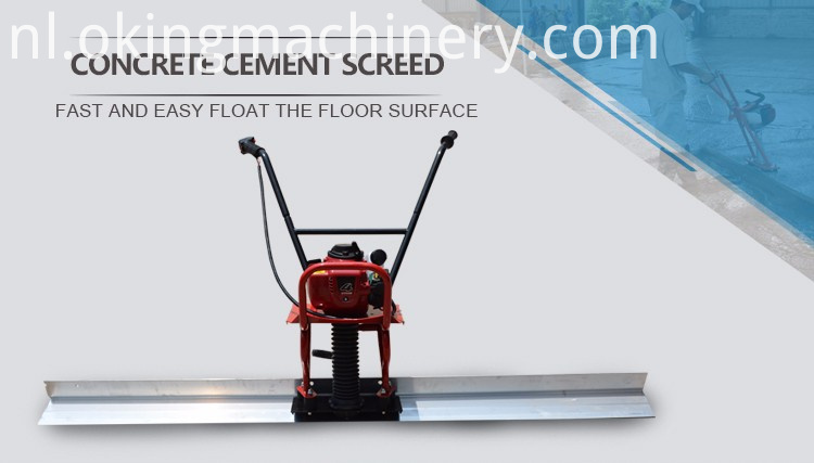 Concrete Screed Leveling