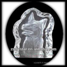 K9 Cristal Intaglio de Moule S070
