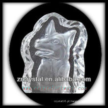 K9 Crystal Intaglio do molde S070
