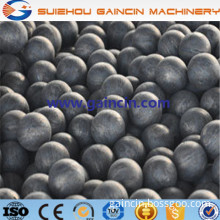 dia.60mm,20mm,90mm grinding media forged balls, high efficiency rolling steel grinding media balls for mining mill