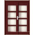 Porta de PVC Slide com Door/MDF(JKD-M698) de vidro/madeira