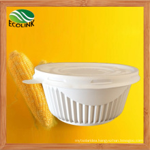 450ml Disposable Crockery Cornstarch Bowl