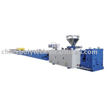 WPC profile extrusion line for wpc floor/deck