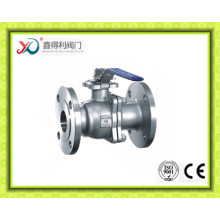 ANSI Flanged Floating Ball Valve with ISO5211 Mounting Pad