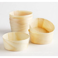 Disposable Mini Dessert Wooden Cup