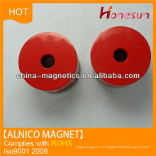 effectuer un cast des aimants alnico 5 cylindre trou