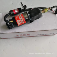 Válvula de solenoide del motor diesel 12v