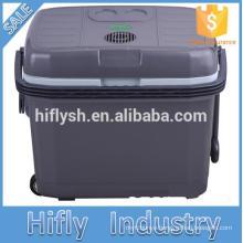 HF-40L DC 12V/AC 220V car refrigerator car cooler cooling box mini portable car refrigerator(CE certificate)