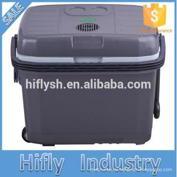 HF-40L DC 12V / AC 220 V Auto Kühlschrank Auto Kühler Kühlbox Mini tragbare Auto Kühlschrank (CE-Zertifikat)