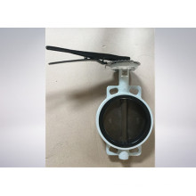 JIS 10k/16k Cast Iron Wafer Type Butterfly Valve with Hand Lever