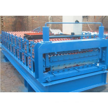 ISO9001: 2008 Color Steel Board Glazed Tile Roll Forming Machine