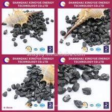 FC 98,5% de adubo de coque de petróleo ativado carbono mais baixo sulfer, cinzas mais baixas