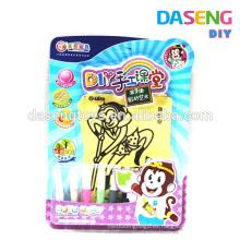 Suministro de juguete de papel pegajoso para niños