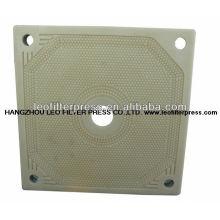 Plaque filtrante de membrane, plaque filtrante de presse de filtre de membrane de presse de filtre de Leo, presse-filtre de déshydratation pour la boue